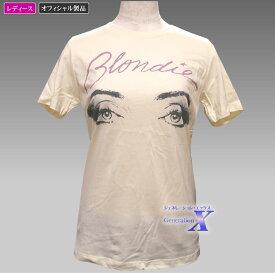【ブロンディーBlondieオフィシャルTシャツ】レディース(クリーム)