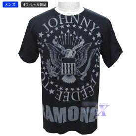 【ラモーンズ・オフィシャル製品】メンズTシャツ(タイプA)