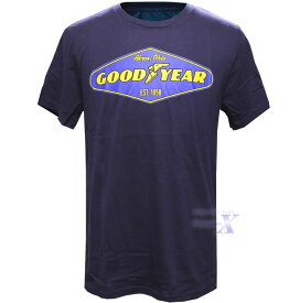 【米国グッドイヤー公式メンズTシャツ】 GoodYear Official T-shirt Cotton 100%
