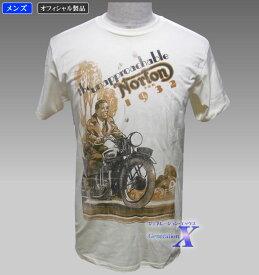 【ノートンバイク・オフィシャルTシャツ】メンズ/1932