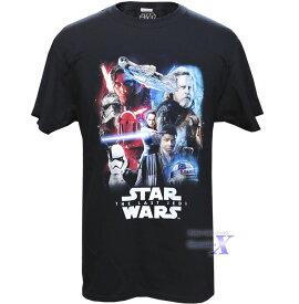 【スターウォーズ米国公式製品】メンズ Tシャツ(ラストジェダイ)Star Wars
