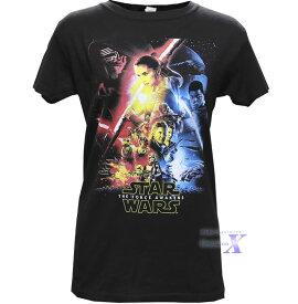 【スターウォーズ米国公式Tシャツ】レディース (フォース) Star Wars