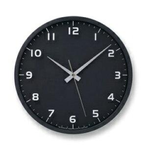 nine clock ブラック 電波時計 LC08-14W BK