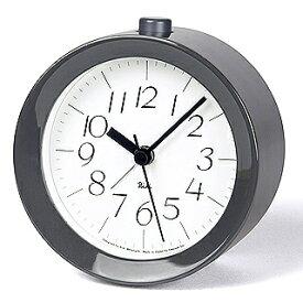 Lemnos(レムノス)RIKI ALARM CLOCK アラーム時計 グレー WR09-14 GY【ポイント10倍】★★