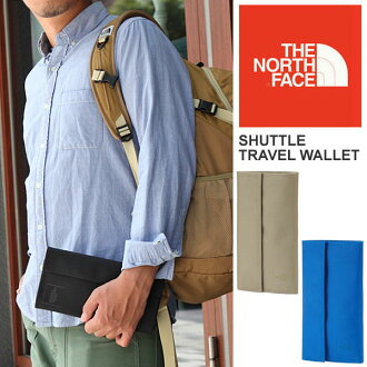@ THE NORTH FACE SHUTTLE TRAVEL WALLET[全3色]这个nosufeisushatorutoraberuwaretto(钱包)男女两用(男女兼用)_11309F(trip)  05P04Jul15