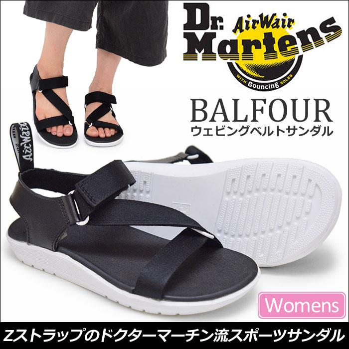 【SALE/30%OFF 】ドクターマーチン Dr.Martens バルフォア Z ストラップサンダル[ブラック](22431001)BALFOUR Z STRAP SANDAL レディース(女性用)【靴】_11705F(trip)【返品交換不可】レビューを書いて500円クーポンを貰おう!