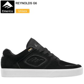 ・エメリカ スニーカー レイノルズ G6[ブラック/ホワイト]EMERICA REYNOLDS メンズ レディース【靴】_snk_1708trip