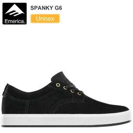 エメリカ スニーカー EMERICA スパンキー G6[ブラック/ホワイト](23-28.5cm)SPANKY G6メンズ レディース【靴】_snk_1906trip