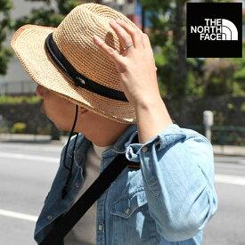 【正規取扱店】ノースフェイス THE NORTH FACE 帽子 天然素材 メンズ レディース ラフィアハット ナチュラルベージュ RAFFIA HAT NN01554 20SS 2004trip
