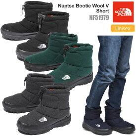 SALE 36%OFFノースフェイス スノーブーツ THE NORTH FACE ヌプシブーティーウール5ショート(NF51979/23-29cm)Nuptse Bootie Wool V Short メンズ レディース【靴】_wbt 1910trip【返品交換・ラッピング不可】