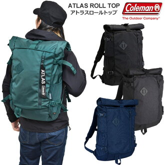 科尔曼Coleman帆布背包大容量人分歧D苏阿特RAS角色最高层33L ATLAS ROLLTOP 20SS bpk2003trip