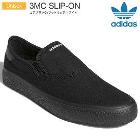 【正規取扱店】アディダス オリジナルス adidas originals スニーカー メンズ レディース 3MCスリッポン ブラック 23-29cm 3MC SLIP-ON EG2639 20FW snk【靴】2007trip