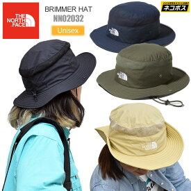 【正規取扱店】ノースフェイス THE NORTH FACE 帽子 UVケア メンズ レディース ブリマーハット BRIMMER HAT ブラック ヘンプ ニュートープ ネイビー NN02032 20SS 2005trip[M便 1/1]