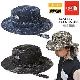 【正規取扱店】ノースフェイス THE NORTH FACE 帽子 UVケア メンズ レディース ノベルティーホライズンハットデジタルカモ バンダナ ブラック ブルー NOVELTY HORIZON HAT NN01708 20SS 2005trip[M便 1/1]