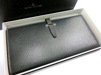 【新品】グローブトロッターJETトラベルウォレット小銭入れ付き黒ブラック長財布