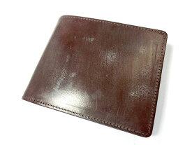【新品】グレンヘリテージ 二つ折り財布 ブラウン 茶 小銭入れ付き
