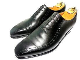 【中古】JMウエストン 革靴 6D 黒 ブラック ビジネスシューズ JM WESTON J.M. Weston