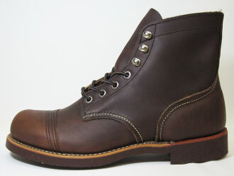RED WING Red Wing 8111 IRON RANGE iron range boots amber harness amber harness