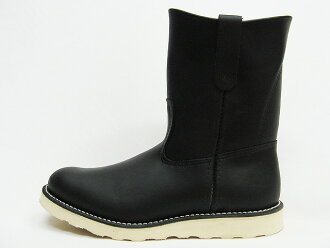 RED WING Red Wing 8169 PECOS Pecos boots 9 inch black chrome Black Chrome