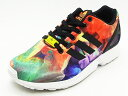 ADIDAS ORIGINALS Adidas originals ZX FLUX W flux tropic melon/black fatty tuna pick melon / black sneakers 14SS