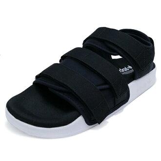 阿迪三葉草阿迪三葉草 ADILETTE 涼鞋 W adirettasandalwimens 黑白黑色 / 白色 S75382 16SS