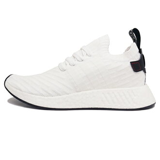 adidas NMD R2 Primeknit Men's Basketball Shoes Black/Black