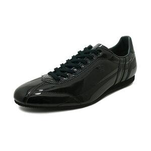 スニーカーパトリックPATRICKダチアエナメルブラックメンズレディースシューズ靴19SS
