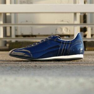 スニーカーパトリックPATRICKダチアエナメルダークブルーメンズレディースシューズ靴19SS
