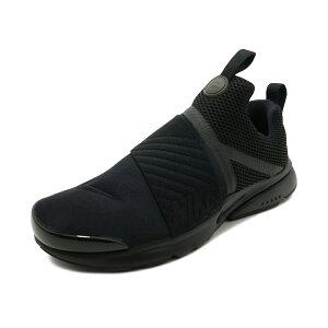 スニーカーナイキNIKEプレストエクストリームGSブラックレディースシューズ靴18HO