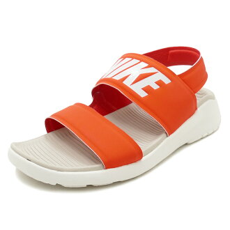 NIKE WMNS TANJUN SANDAL habanero red/moon particle-summit white(纳加辣椒红/月亮颗粒/峰会白)882694-602 18SU