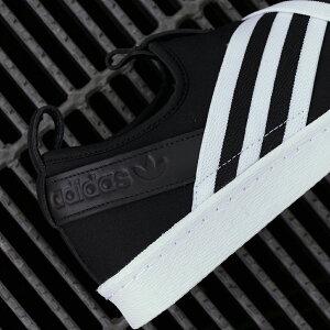 adidasOriginalsSUPERSTARSLIPONW【アディダスオリジナルススーパースタースリッポンW】coreblack/coreblack/runningwhite(コアブラック/コアブラック/ランニングホワイト)AC858218SS
