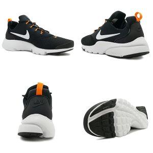スニーカーナイキNIKEプレストフライJDIブラック/ホワイト/オレンジメンズレディースシューズ靴18FA