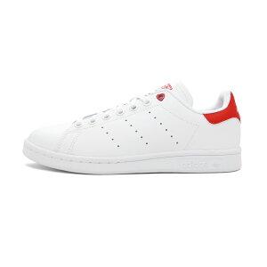 スニーカーアディダスadidasスタンスミスJランニングホワイト/アクティブレッドレディースシューズ靴19SS