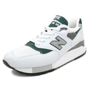 【先行予約】NEWBALANCEM998JWG【ニューバランスM998JWG】white/green(ホワイト/グリーン)NBM998-JWG18SS