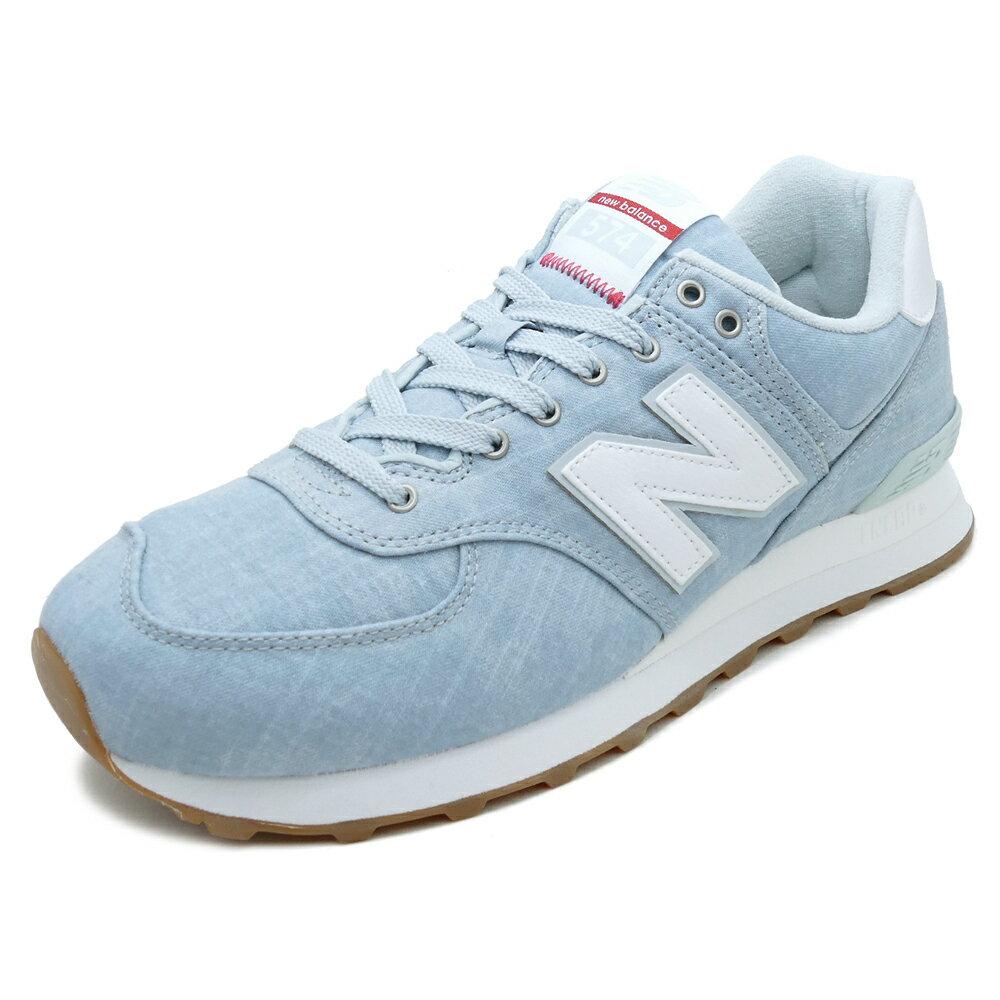 NEW BALANCE ML574 YLF【ニューバランス ML574YLF】light blue(ライトブルー)NB ML574-YLF 18SS