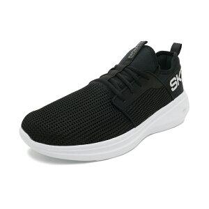 スニーカースケッチャーズSKECHERSゴーランファストブラック/ホワイトメンズシューズ靴19SP