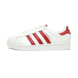 スニーカーアディダスadidasスーパースターホワイト/レッドメンズレディースシューズ靴19SS