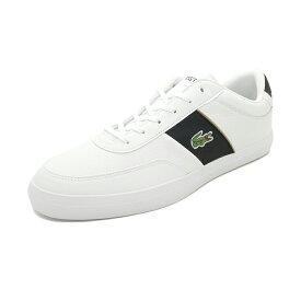 スニーカー ラコステ LACOSTE コートマスター ホワイト/ブラック メンズ シューズ 靴 19FW