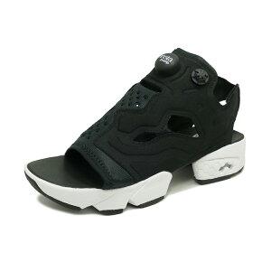 スニーカーリーボックREEBOKインスタポンプフューリーサンダルブラック/ホワイトメンズレディースシューズ靴