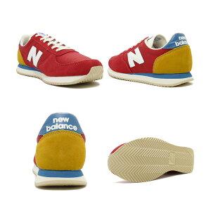 スニーカーニューバランスNEWBALANCEU220FHチームレッドNBメンズレディースシューズ靴19SS