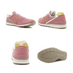スニーカーニューバランスNEWBALANCEWL996CPピンク/ゴールドNBレディースシューズ靴19HO