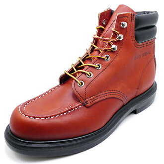 """RED WING 8804 SuperSole 6""""Moc-toe Oro-Russet Portage(ororasettopoteji)"""
