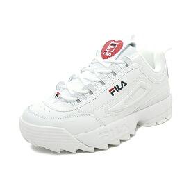 スニーカー フィラ FILA ディスラプター2ハート ホワイト/ブラック/フィラレッド F0500-0113 レディース ウィメンズ シューズ 靴 20SP