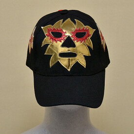 ◎プロレスマスクのキャップ(黒):ソラール(1)