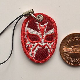 プロレスマスクの携帯ストラップ:ラマスカラ(1)