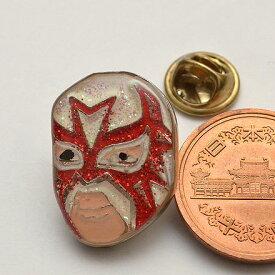 プロレスマスクのピンバッジ:ラマスカラ(1)