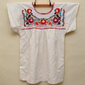 メキシコ手刺繍ブラウス(66)《送料無料》