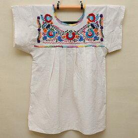メキシコ手刺繍ブラウス(67)《送料無料》
