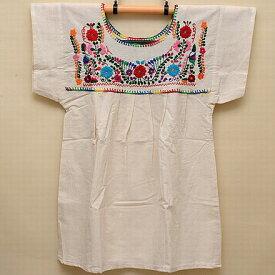 メキシコ手刺繍ブラウス(70)《送料無料》