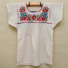 メキシコ手刺繍ブラウス(71)《送料無料》